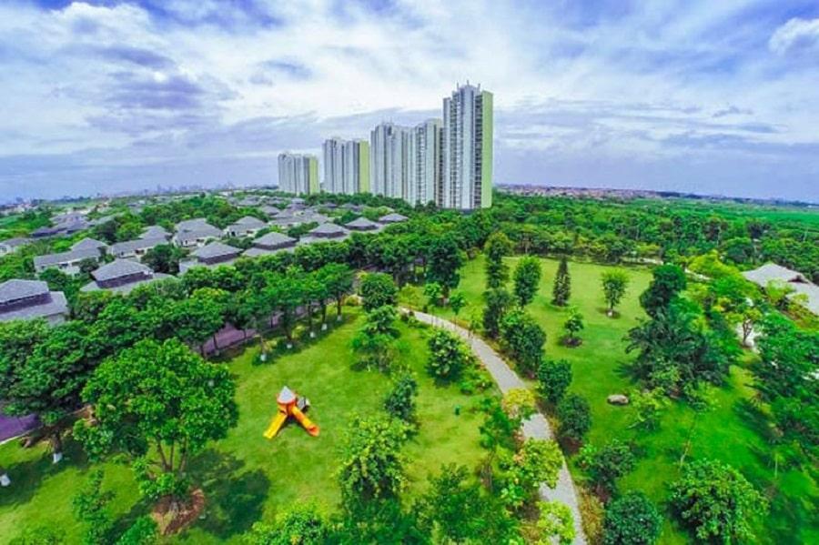 Trải nghiệm sống xanh tại sky oasis ecopark