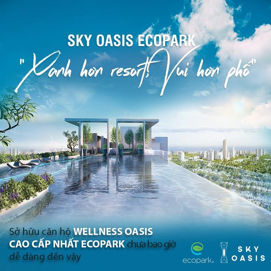 Sky Oasis - Xanh hơn resort, vui hơn phố