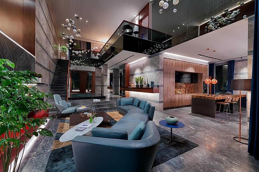Mỗi căn biệt thự đao Ecopark lại mang một phong cách thiết kế riêng biệt