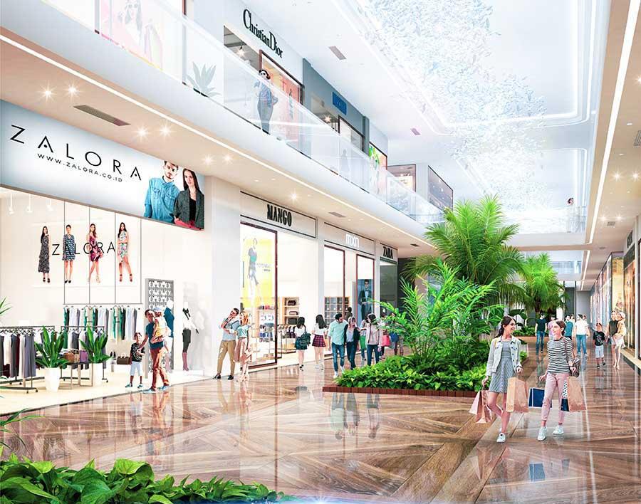 Trung tâm thương mại lớn đẳng cấp quốc tế