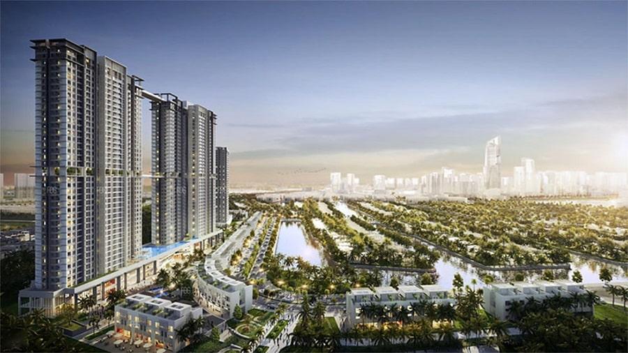 Tổ hợp căn hộ cao cấpSky Oasis được mệnh danh là thành phố nhỏ thu nhỏ giữa lòng thiên nhiên trong xanh