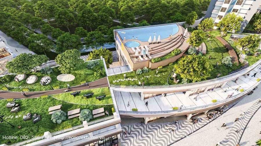 Tiện ích S3 Chung cư Sky Oasis Ecopark
