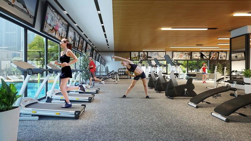 Hệ thống phòng tập gym Marina Arc