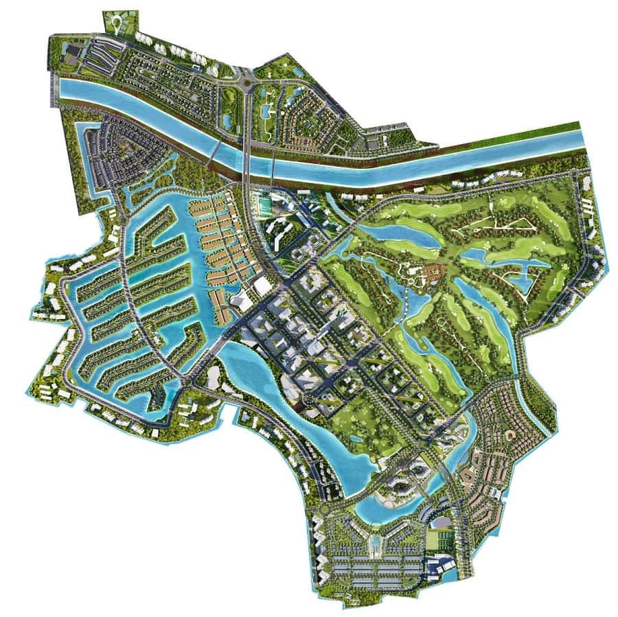 Bản đồ Ecopark