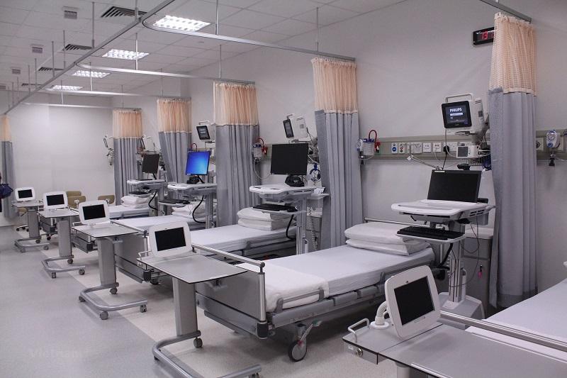 bệnh viện đại học y khoa Tokyo được trang thiết bị hiện đại