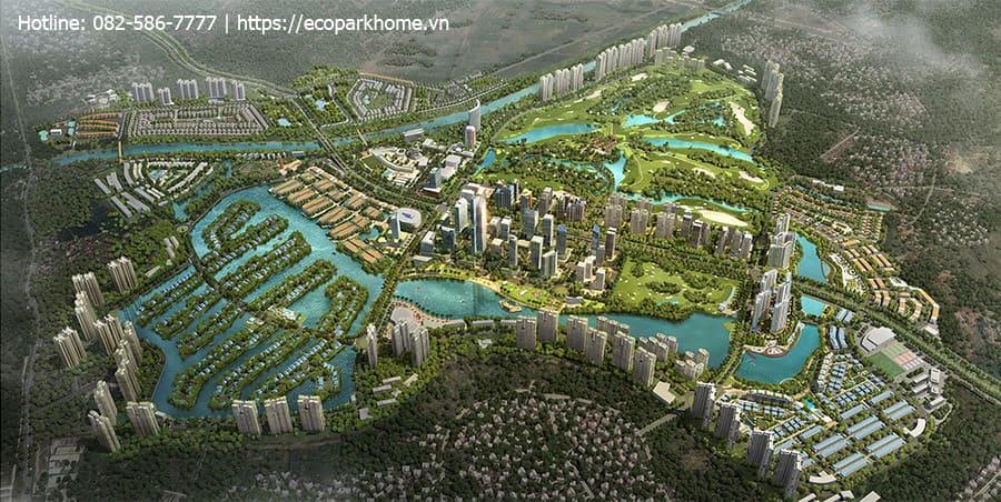 Quần thể biệt thự đảo Ecopark Grand