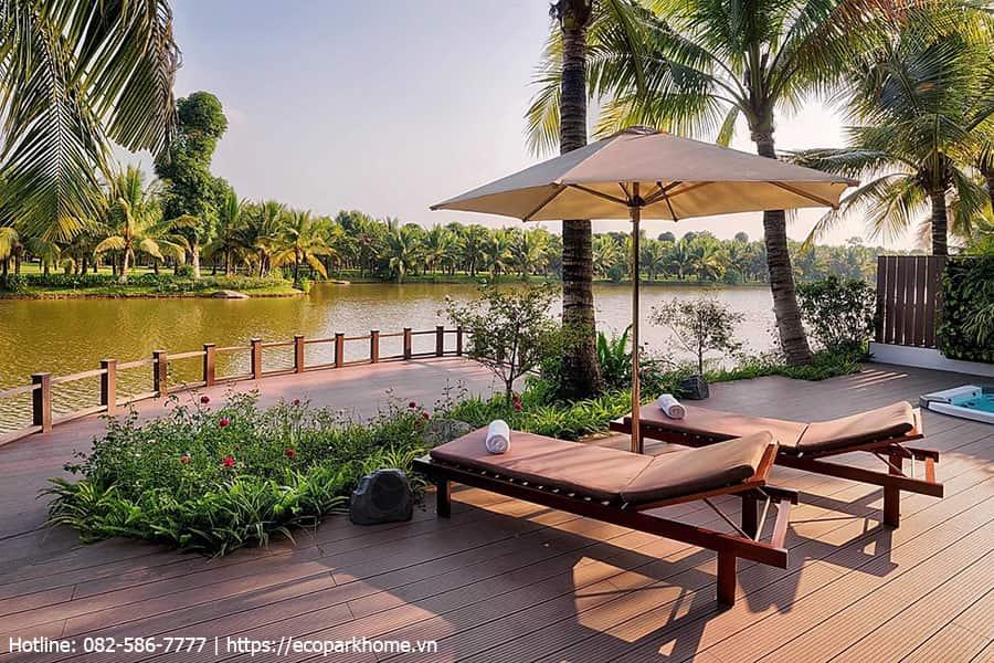 Tận hưởng không gian nghỉ dường cùng biệt thự đảo Ecopark Grand