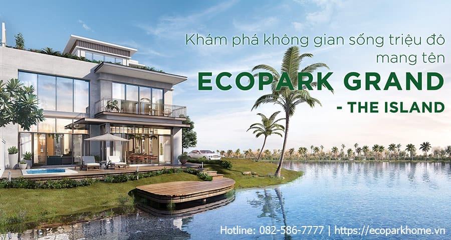 biệt thự đảo Ecopark Grand