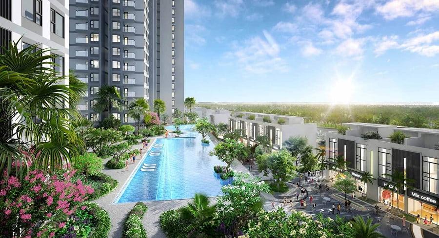 Bể bơi Tropical Resort