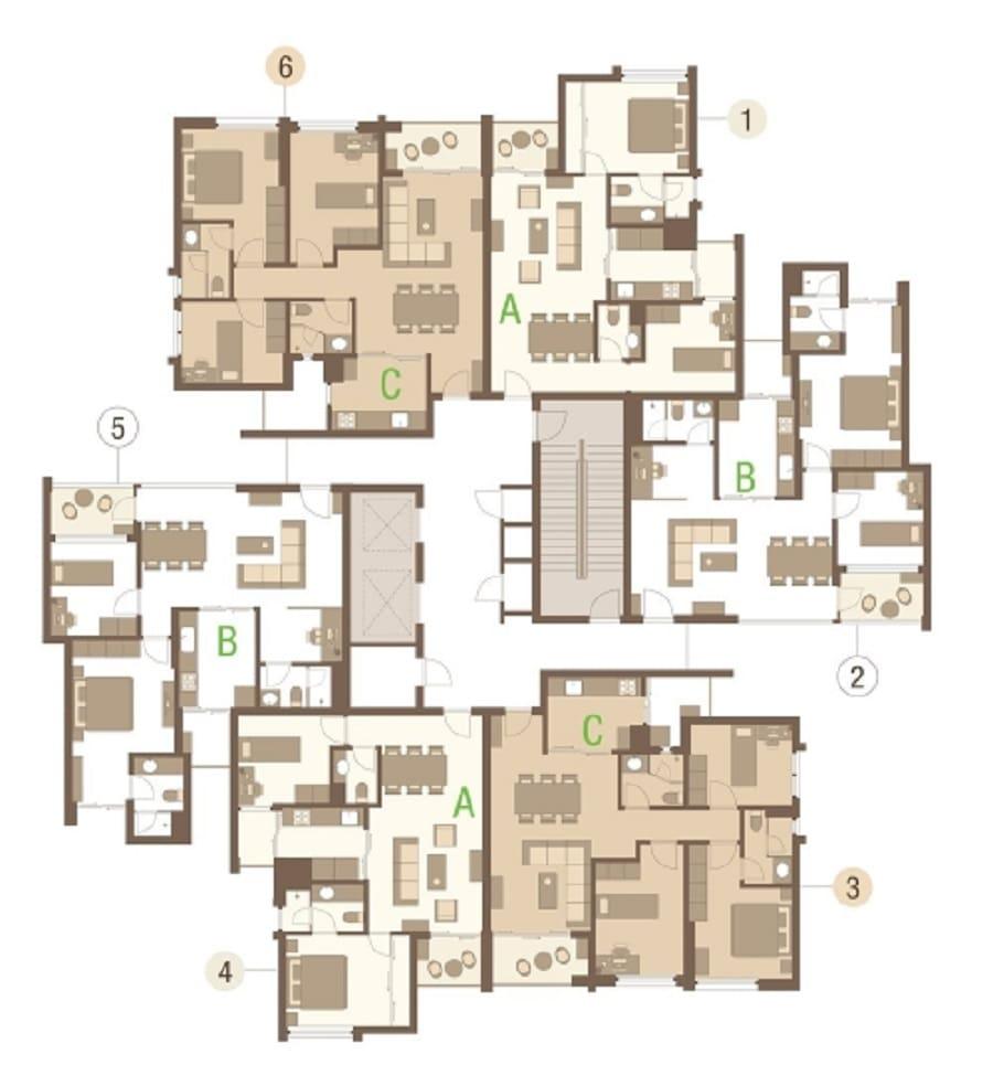 Thiết kế tổng thể khu chung cư Rừng Cọ Ecopark