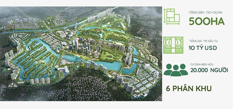 Quy mô chung cư Sky Oasis Ecopark