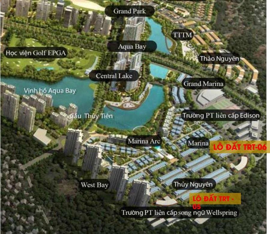 Vị trí dự án chung cư trung tầng Thủy Tiên Ecopark