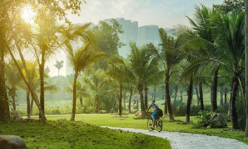 Ecopark sở hữu không gian sống xanh lý tưởng