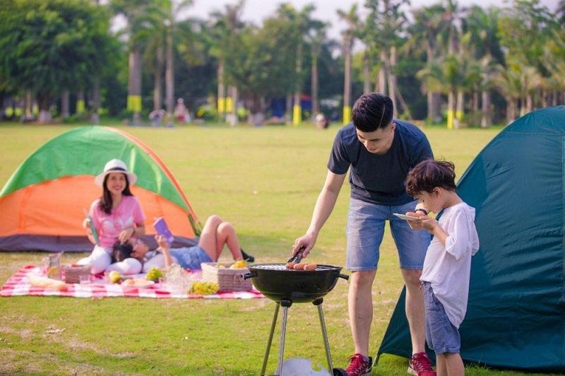 Thuê lều trại, bếp nướng với những bữa tiệc nho nhỏ