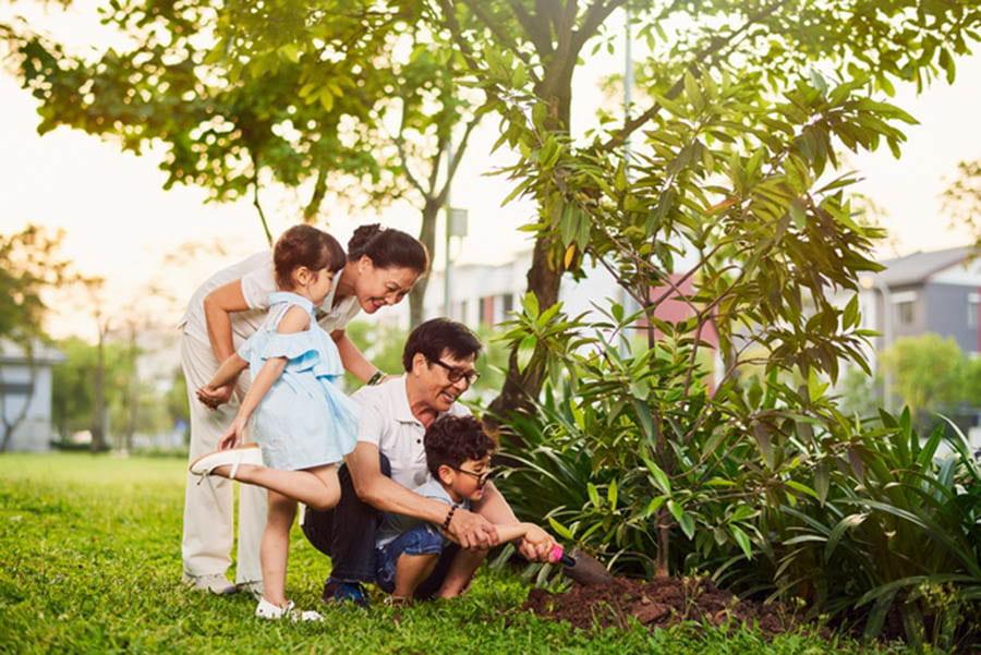 Ecopark mang tới nụ cười cho cả gia đình bạn