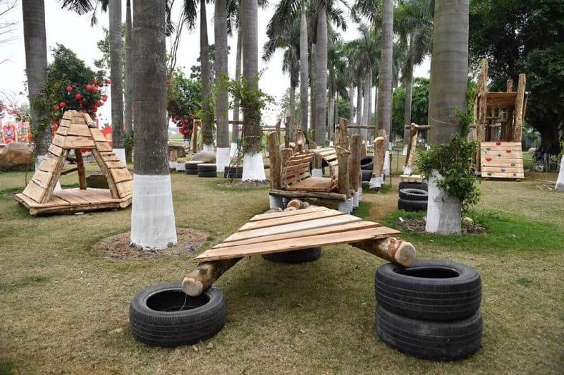 Khu vui chơi gỗ Ecopark