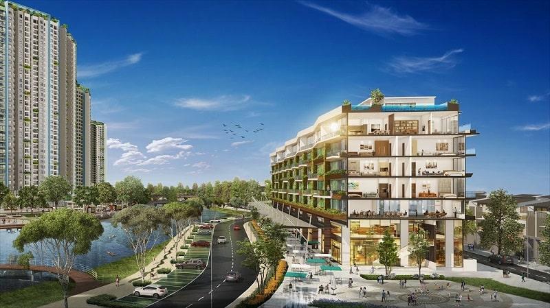 Siêu nhà phố Marina Ecopark