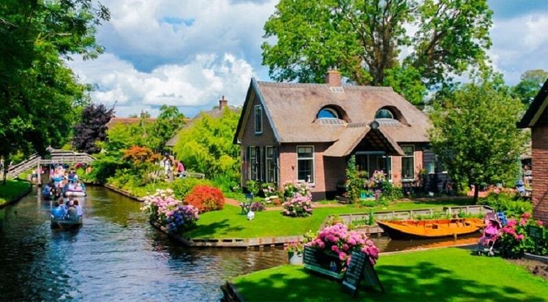 Các căn biệt thự làng Hà Lan mang đậm phong cách Châu Âu