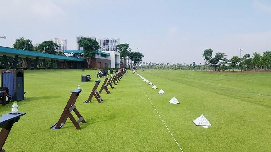 sân golf tại ecopark