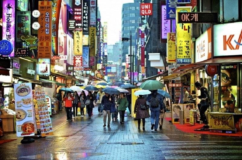 Phố đi bộ được lấy cảm hứng từ những tuyến phố đi bộ thương mại Hàn Quốc