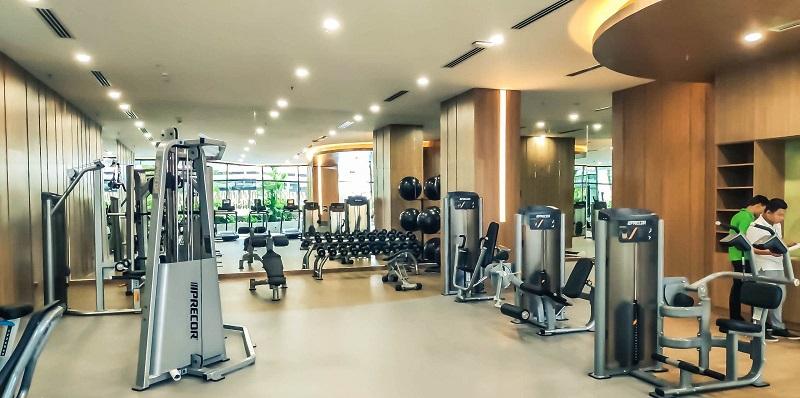 Hệ thống phòng gym tòa S-Premium Sky Oasis