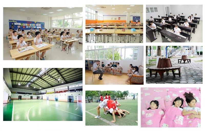 Trường được trang thiết bị cơ sở vật chất hiện đại