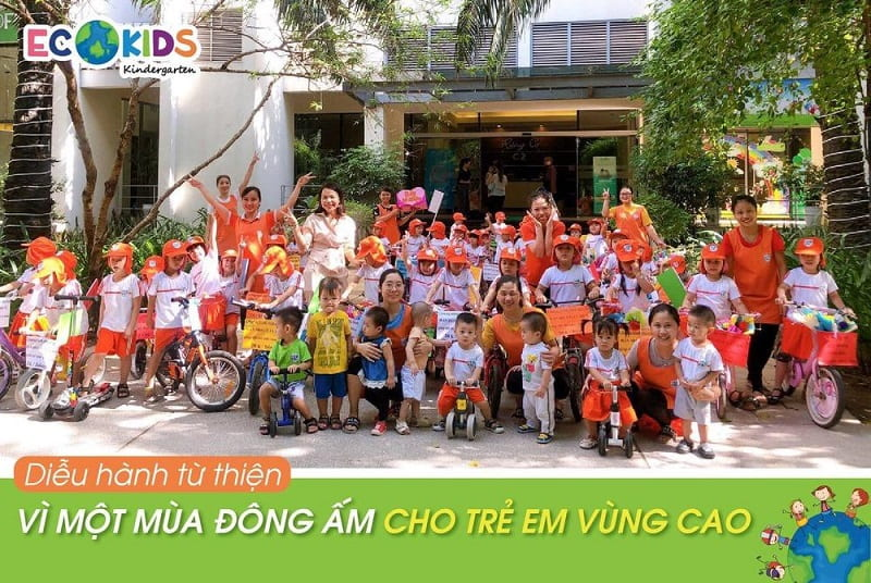 Trường mầm non song ngữ Ecokids