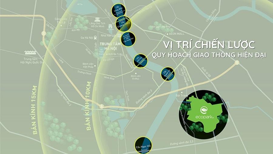 Vị Trí những cây cầu Hà Nội sắp triển khai xây dựng qua sông Hồng