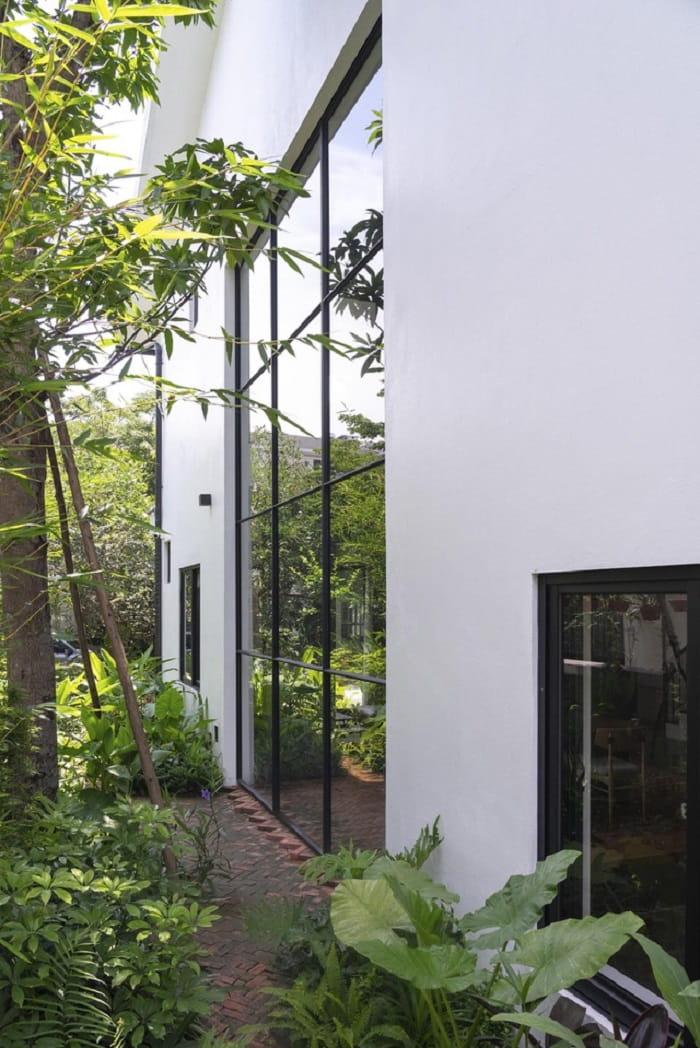 Cảnh quan vườn sau