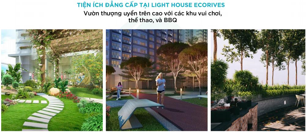 Tiện ích 5 sao của dự án Lighthouse Hải Dương