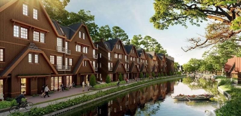 Biệt thự Làng Hà Lan Ecopark - Nơi tận hưởng cuộc sống yên bình