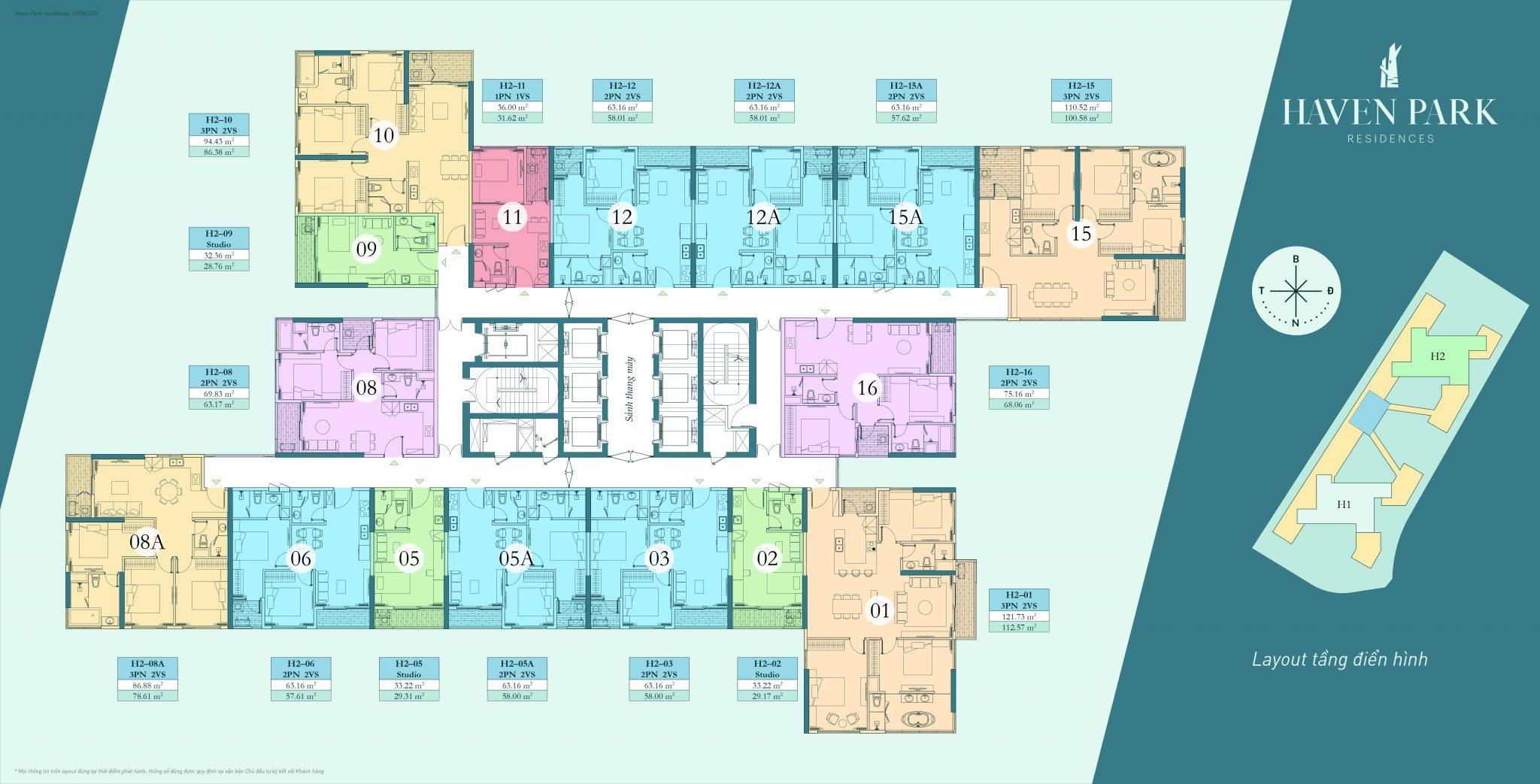 Bán căn hộ chung cư ecopark căn hộ 1 ngủ, 2 ngủ, 3 ngủ giá chủ đầu tư