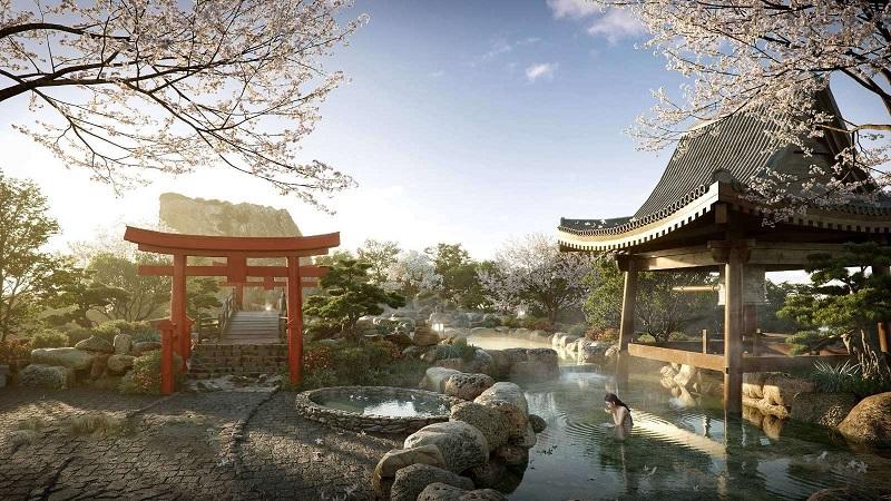 Điểm Khác Biệt Tổ Hợp Khoáng Nóng Trị Liệu Swan Lake Onsen Ecopark