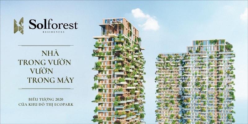 So sánh chung cư ở Ecopark: Aqua bay, Sky Oasis, Sol Forest và Haven Park