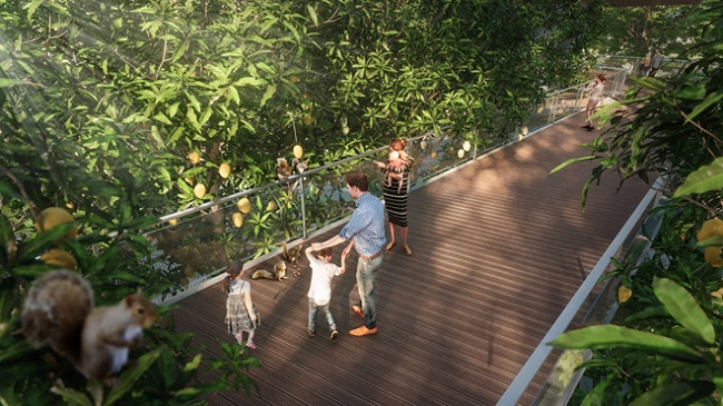 Tuyến Phố đi Bộ 7.5km Ecopark Có Điểm Nhấn Gì Nổi Bật?